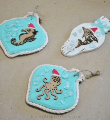 coastal ornament crafting