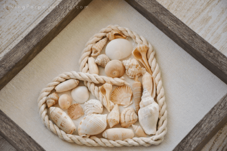 seashell heart shadowbox 2