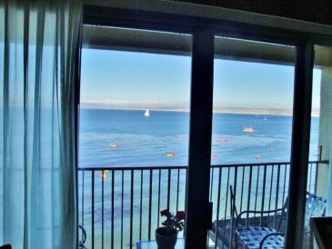 Monterey Plaza Hotel - view