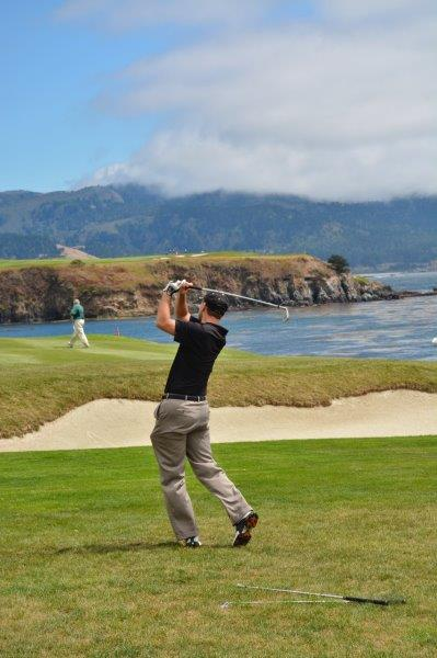 Pebble Beach golf course 6