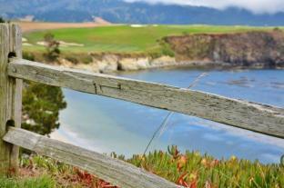 Pebble Beach golf course 8