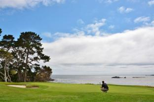 Pebble Beach golf course 9