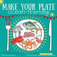 Make Your Plate Ocean-Friendly! (Sustainable Seafood Infographic)
