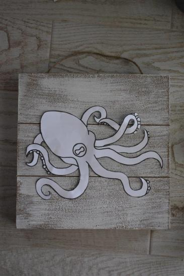 2 place octopus stencil