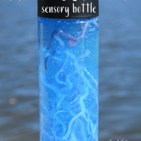 Jellyfish Tentacle DIY Sensory Bottle