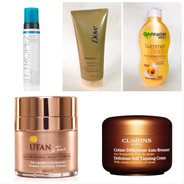 Recommended: Self-Tanning Superstars
