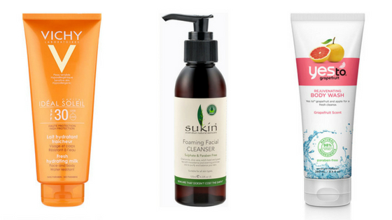 Recommended: Paraben free skincare