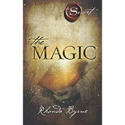 5 great books to help you lead a more positive lifestyle. Front cover image of The Magic (from the Secret series) by Rhonda Byrne