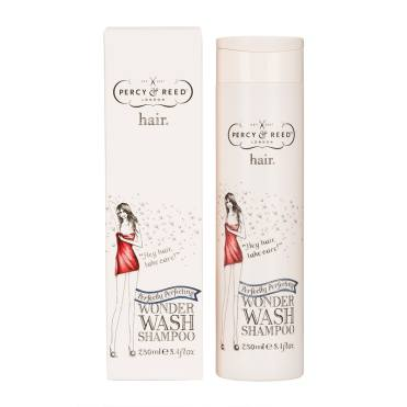 Recommended Shampoos & Conditioners for fine hair. Image of Percy & Reed Wonder Wash Shampoo