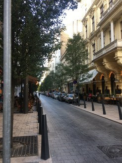 48 hours in Budapest: Image of a picturesque street in Budapest