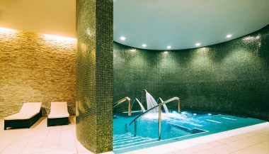 The rise of the leisure centre spa (Verulamium Spa, St Albans) Image of Hydro pool at this spa