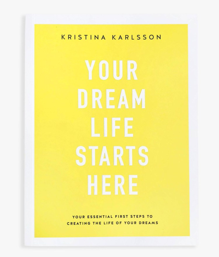 Give the gift of well-being this Mother's Day: Perfect well-being gifts for Mum.  Image of your dream life starts here by Kristina Karlsson