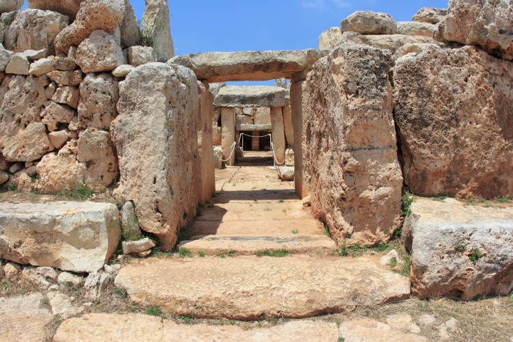 10 Things you need to know about Malta. Going to Malta - what you need to know. Image of Ħaġar Qim megalithic temple complex