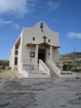 Happy Travels: Where you absolutely should go in Malta. Image of small church at Azure Window Gozo