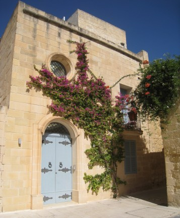 Happy Travels: Where you absolutely should go in Malta. Exterior image of a home in Mdina