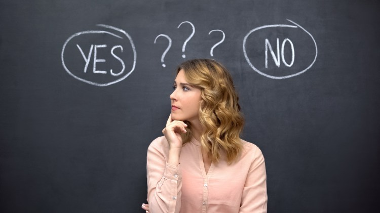 How to choose between saying no or saying yes?