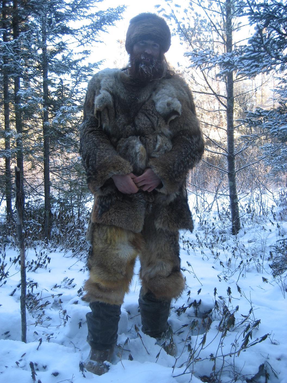 Buffalo Animal Skin Clothing
