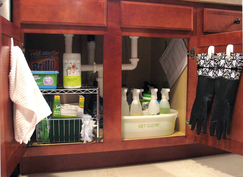 Organizing Under The Sink