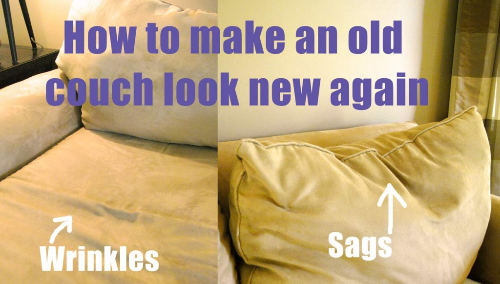 How To Make An Old Couch New Again For 10 Living Rich