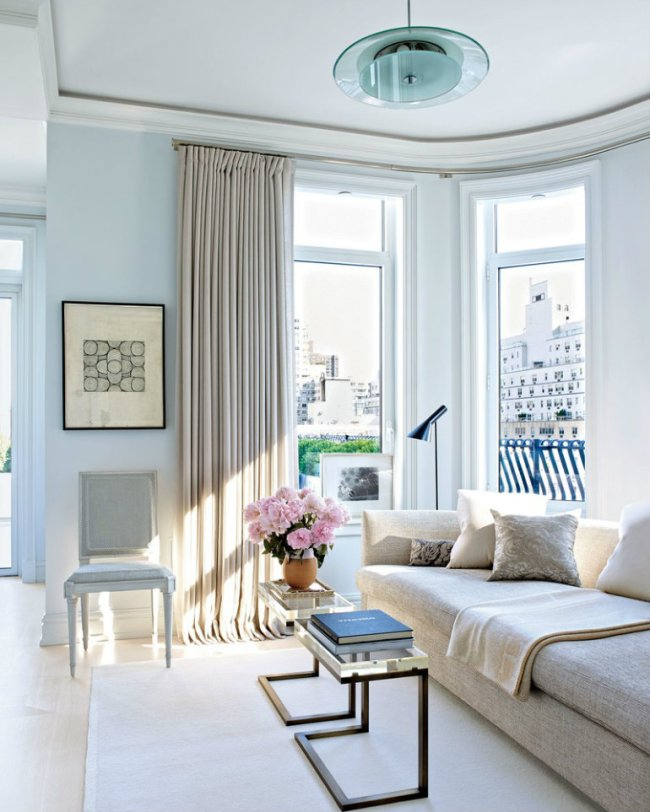 Living Room Inspiration: Luxury Apartment in New York City