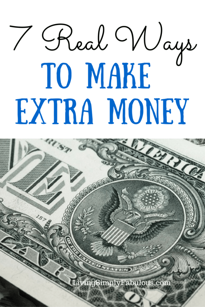 Looking for additional ways to bring in extra income? Here are 7 real ways to make extra money.