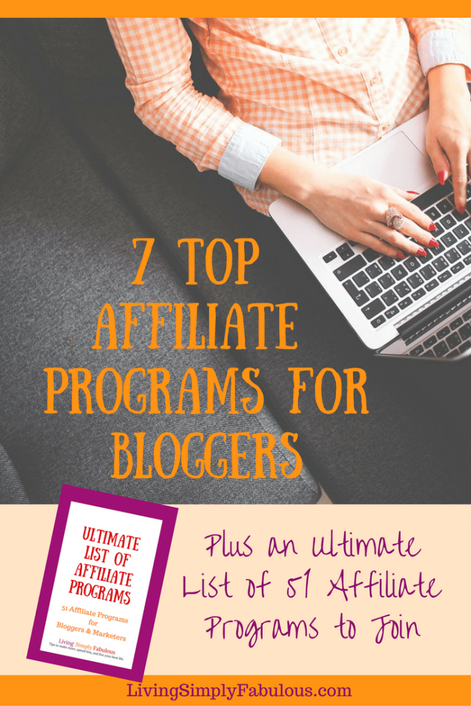 If you're looking to add affiliate marketing as a stream of income for your blog, you may be unsure of what quality programs are out there. Here is a list of the 7 Top Affiliate Programs for Bloggers and how to apply.