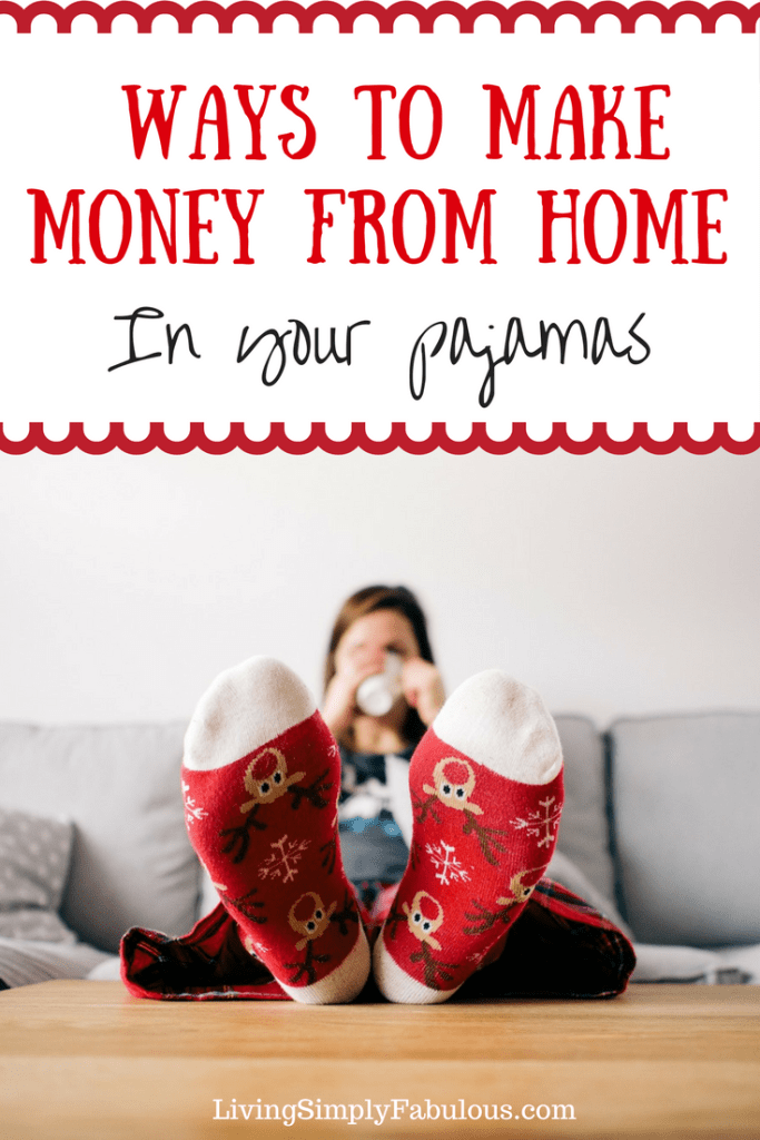 Looking for a few easy ways to make money from home that don't involve getting a second job or working long hours? Here a easy ways you can make money straight from home while hanging around in your pajamas.