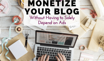 Not making money with ads? Don't put yourself in a box. Here are more ways to make money blogging, without having to solely depend on ad revenue.