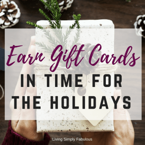 Earn Gift Cards in Time for the Holidays With Swagbucks