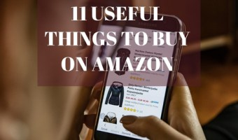 While you're looking for the best gifts to get your loved ones this year, why not check out some items for yourself. I tend to shop on Amazon a lot, however I've found that there are some products that I absolutely love and can't do without. Here are 11 useful things to buy on Amazon. Sort of my must-have Amazon products' list.