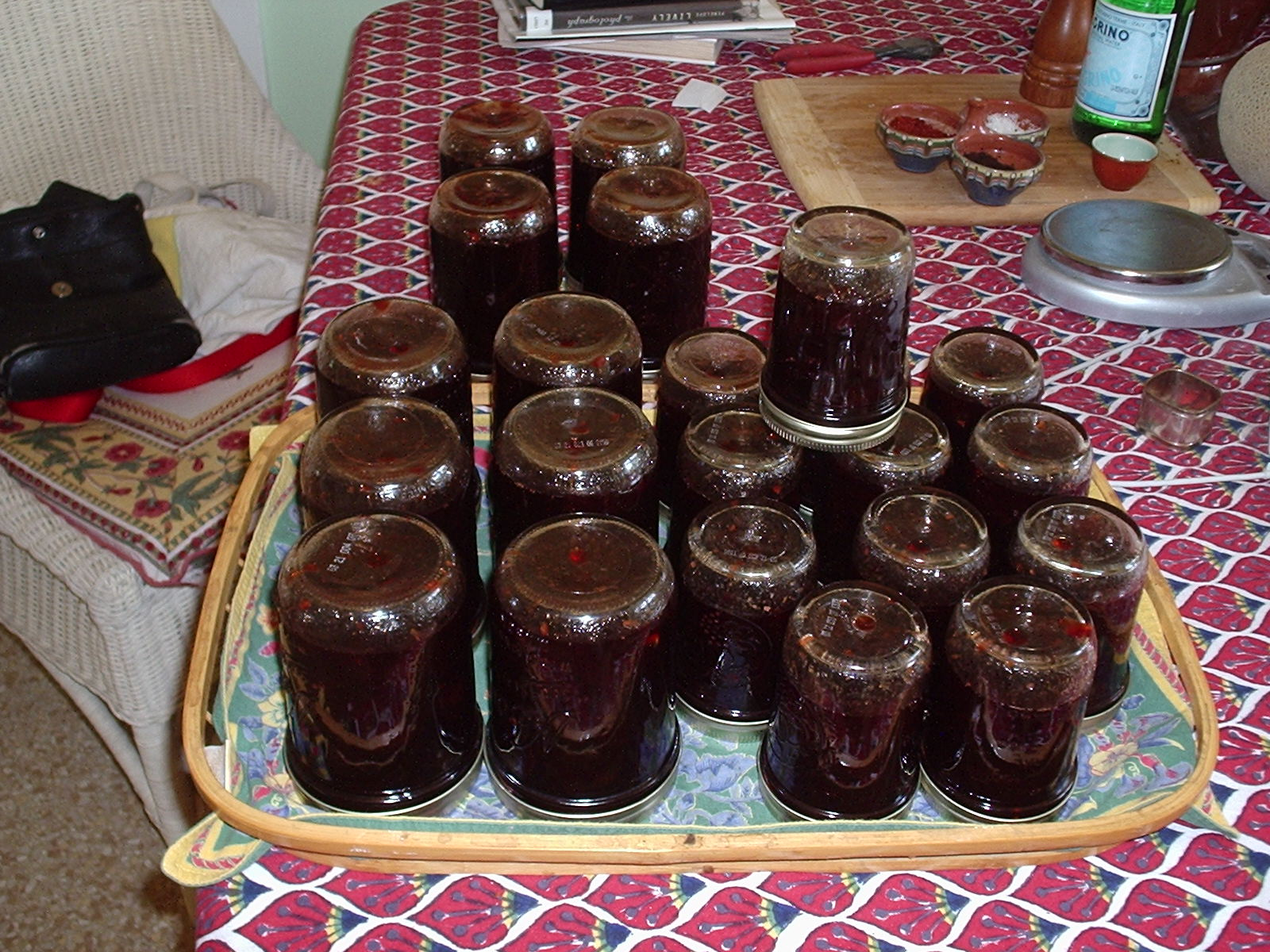 My Beautiful French Jam Pot