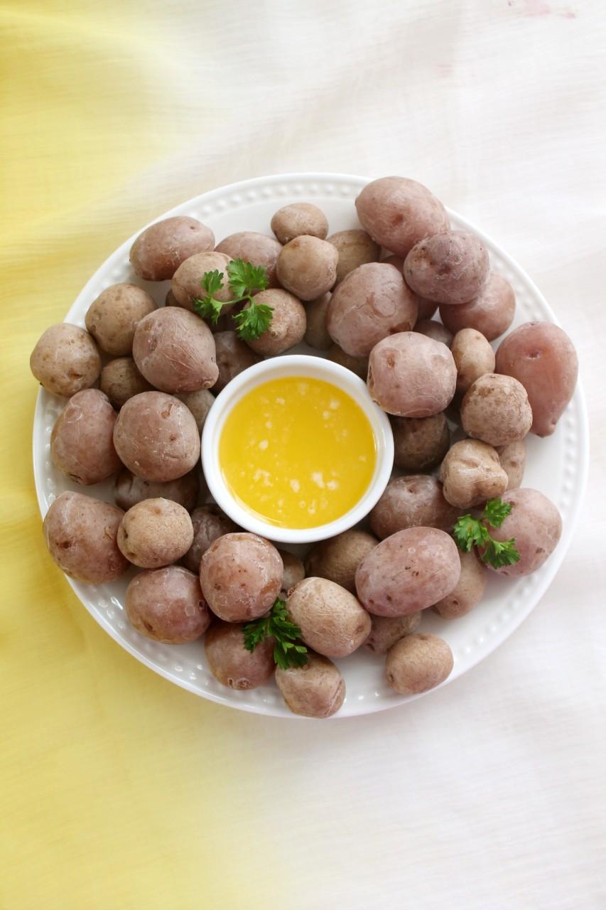 Salt Potatoes [Syracuse, New York]- Instant Pot, Stove Top