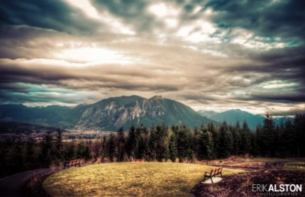 Photo by Erik Alston. Taken from Snoqualmie Point Park