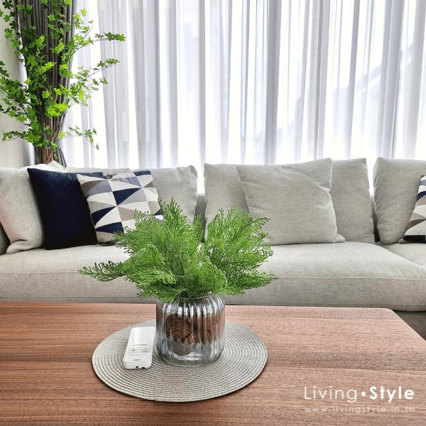 แต่งห้องนั่งเล่น แจกันโซฟา ตกแต่งโซฟา coffee table โต๊ะโซฟา %%sep%% ตกแต่งบ้าน Livingstyle ดอกไม้ปลอม ดอกไม้ประดิษฐ์ ต้นไม้ประดิษฐ์ ตกแต่งบ้าน