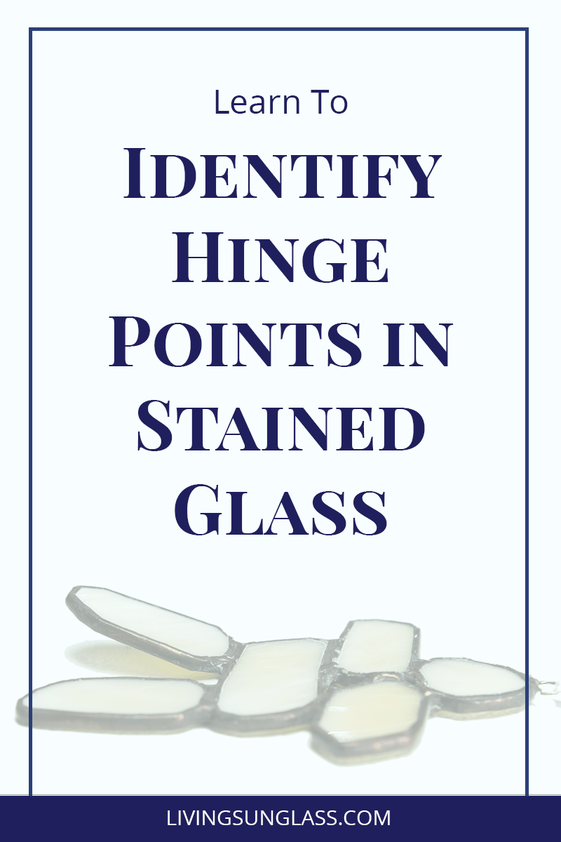 Recognize hinge points in your stained glass work and how to correct them BEFORE they become a problem.