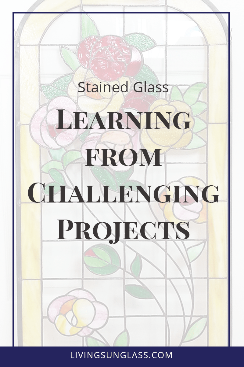 Pushing yourself to take on a new challenge in a project can be a great exercise in creativity and can open us up to new concepts in stained glass.