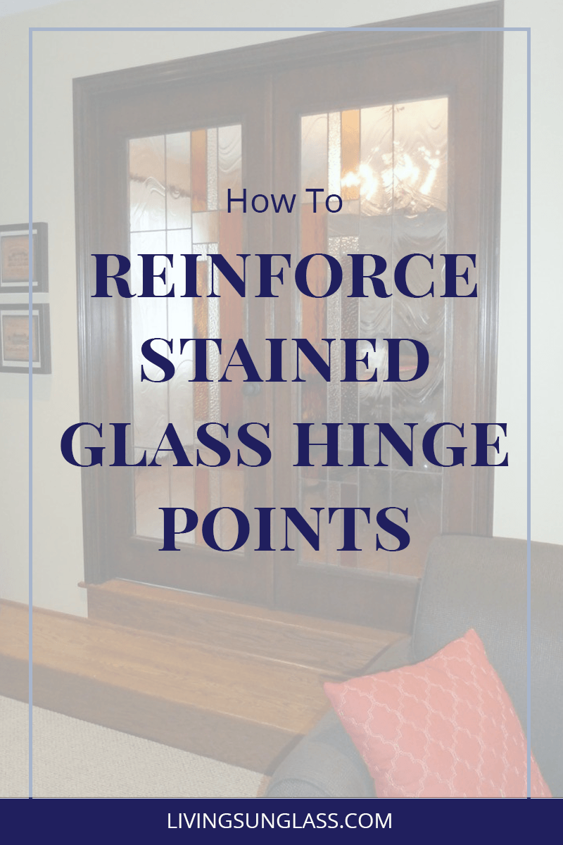 Learn to reinforce hinge points in your stained glass work.