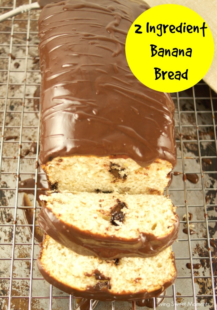 2 Ingredient Banana Bread Living Sweet Moments