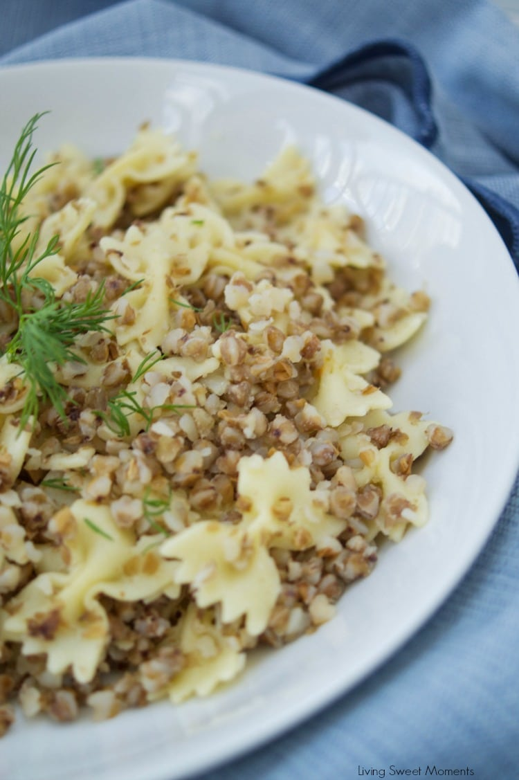 Easy Kasha Varnishkes Recipe Living Sweet Moments