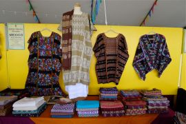 Amuzgo huipiles - Folk Art Market - Santa Fe, NM