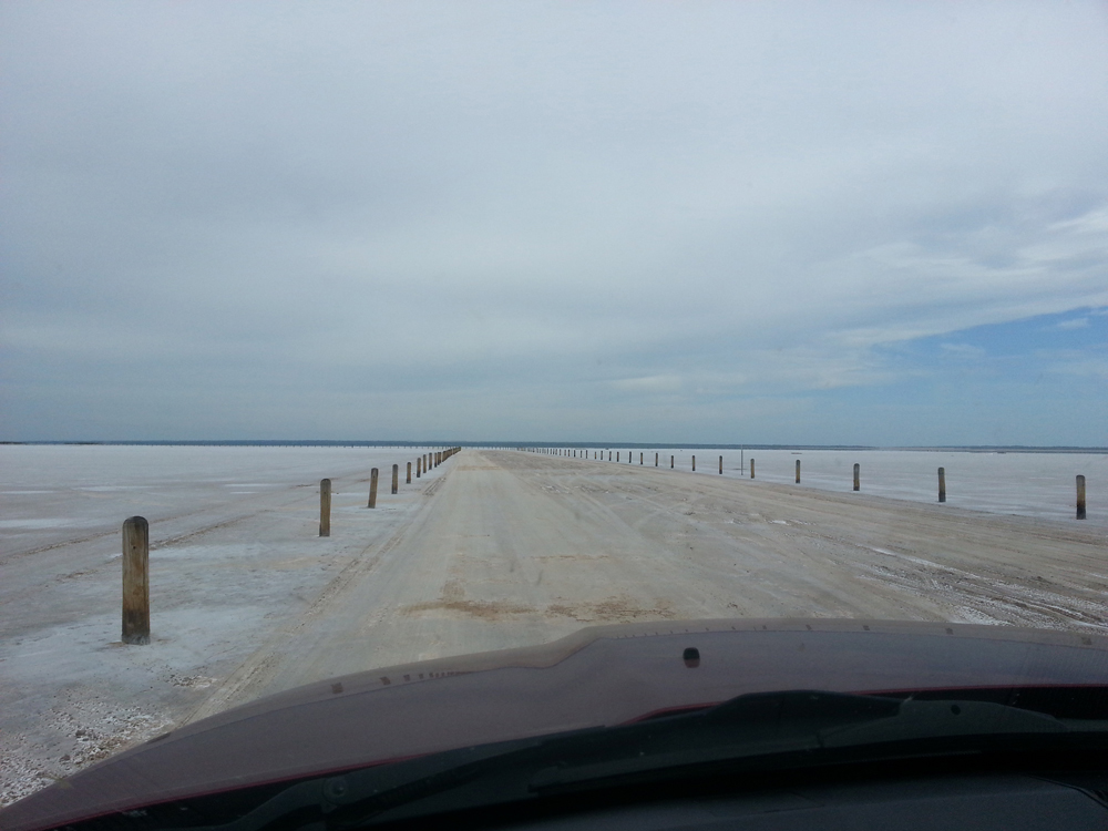 Digging the Great Salt Plains