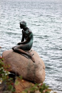 The Little Mermaid at Copenhagen Harbour