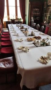 Tea in Balfour Castle