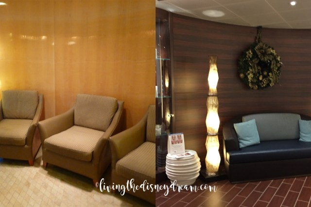 Disney Wonder Spa Before and After