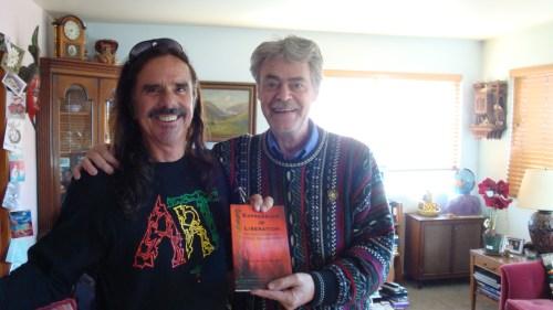 Roger Steffens & me