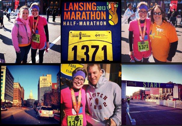 Lansing Half-Marathon Collage