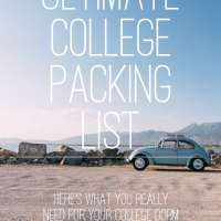 Ultimate College Packing Guide