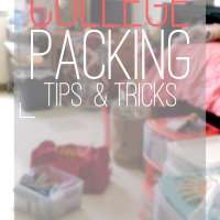 College Packing Tips & Tricks