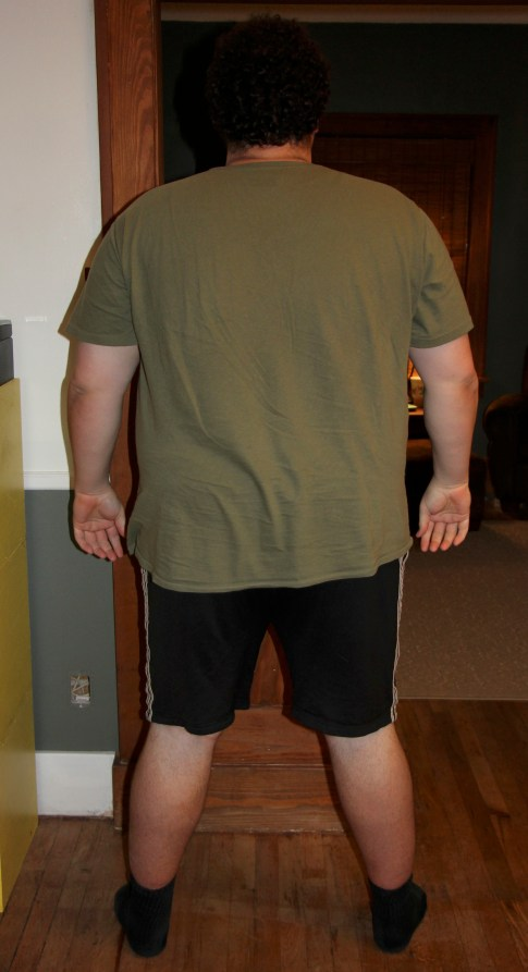 """Jeff's """"Before"""" Photo - Rear View"""