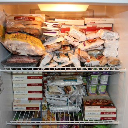 How Much Room Does It Take To Store Nutrisystem?